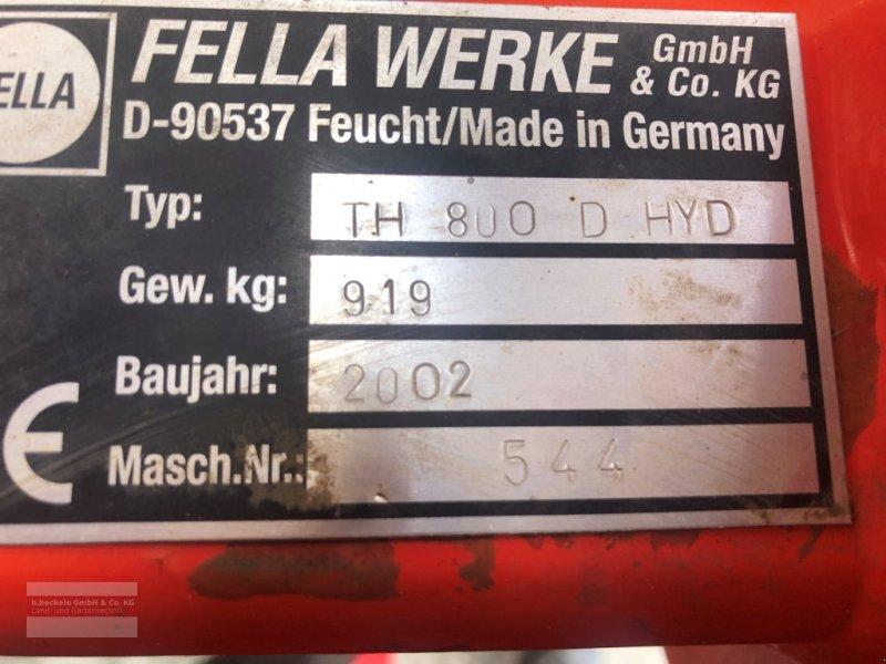 Kreiselheuer des Typs Fella TH 800 D Hydro, Gebrauchtmaschine in Epfendorf (Bild 8)