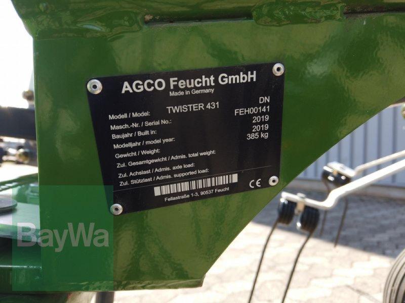 Kreiselheuer des Typs Fendt TWISTER 431 DN FENDT WENDER, Neumaschine in Manching (Bild 7)