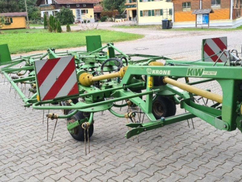 Kreiselheuer des Typs Krone KW 11.02/10 T, Gebrauchtmaschine in Köngetried (Bild 1)