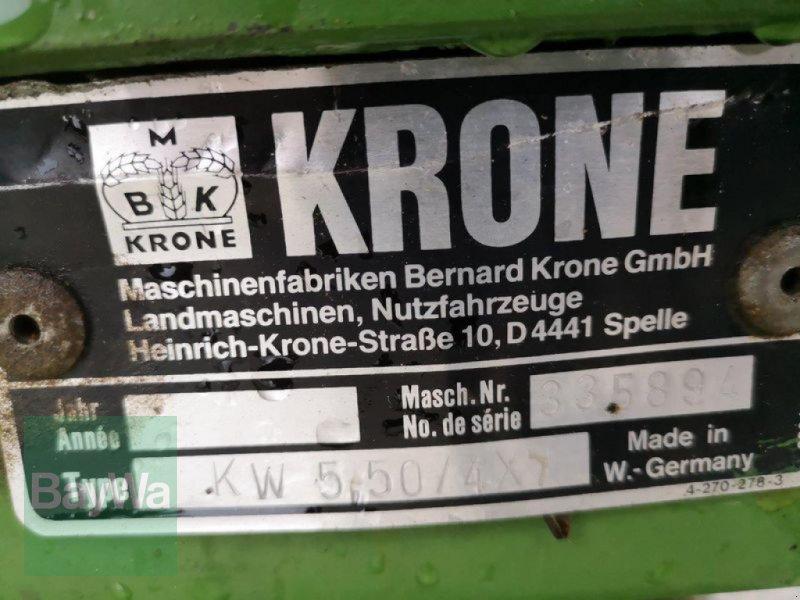Kreiselheuer des Typs Krone KW 5.50/4x7, Gebrauchtmaschine in Untergriesbach (Bild 9)