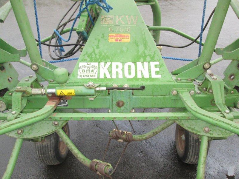 Kreiselheuer des Typs Krone KW 6.70/6, Gebrauchtmaschine in Wülfershausen an der Saale (Bild 7)