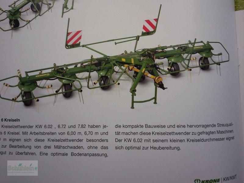 Kreiselheuer des Typs Krone KW 6.72/6, Neumaschine in Emskirchen (Bild 1)