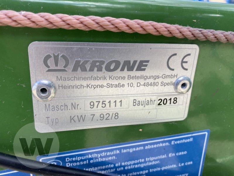 Kreiselheuer des Typs Krone KW 7.92/8, Gebrauchtmaschine in Husum (Bild 2)