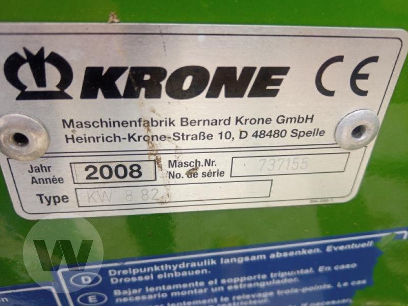 Kreiselheuer des Typs Krone KW 8.82/8, Gebrauchtmaschine in Husum (Bild 3)