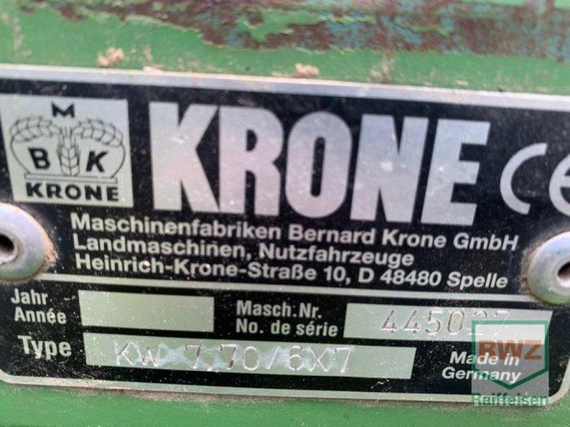 Kreiselheuer des Typs Krone KW770, Gebrauchtmaschine in Diez (Bild 4)
