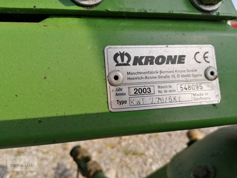 Kreiselheuer of the type Krone KWT 7.70/6x7, Gebrauchtmaschine in Petting (Picture 2)
