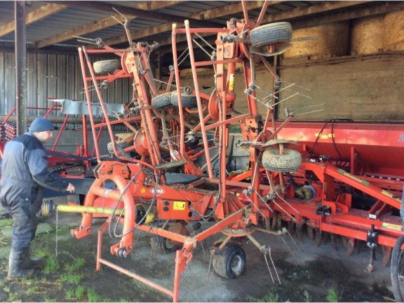 Kreiselheuer des Typs Kuhn GF 8501 MH, Gebrauchtmaschine in Wargnies Le Grand (Bild 1)
