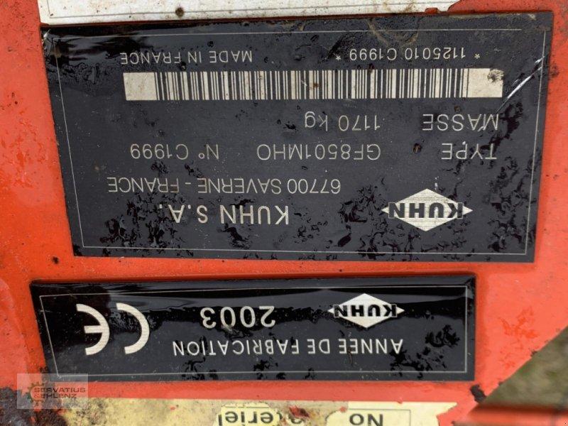 Kreiselheuer des Typs Kuhn GF 8501 MHO DIGIDRIVE, Gebrauchtmaschine in Rittersdorf (Bild 8)
