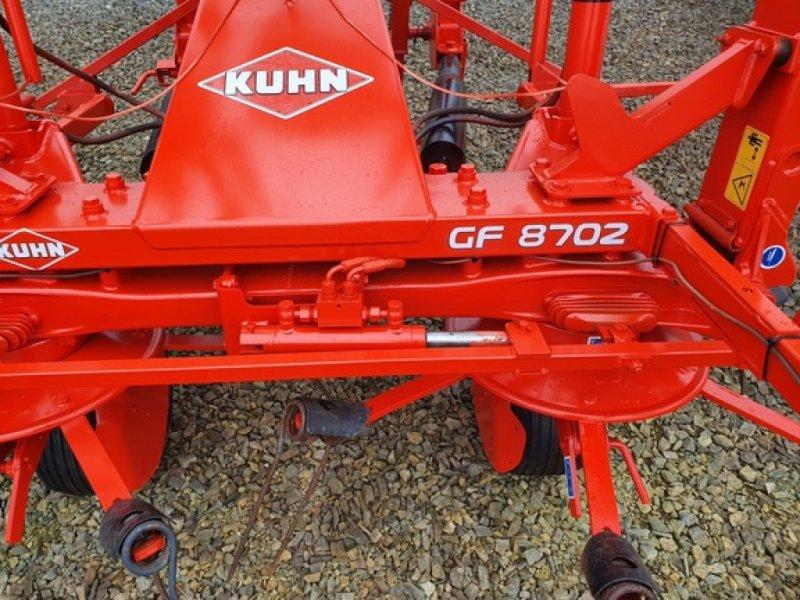 Kreiselheuer des Typs Kuhn GF 8702 GM, Gebrauchtmaschine in DOMFRONT (Bild 4)