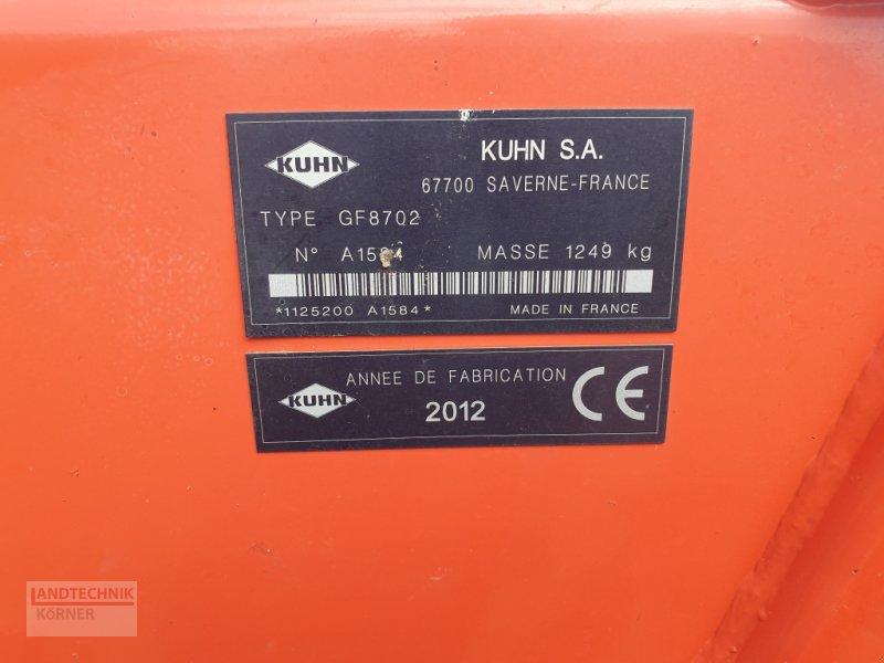 Kreiselheuer des Typs Kuhn GF 8702, Gebrauchtmaschine in Kirkel-Altstadt (Bild 14)
