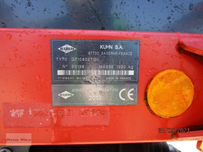 Kreiselheuer des Typs Kuhn GF10802T GII, Gebrauchtmaschine in Soyen (Bild 5)
