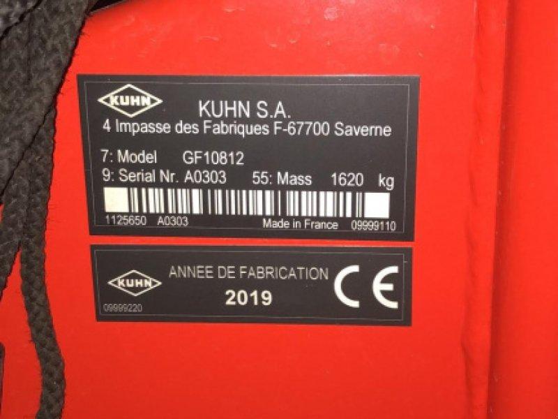 Kreiselheuer des Typs Kuhn GF10812, Gebrauchtmaschine in Leutkirch (Bild 1)