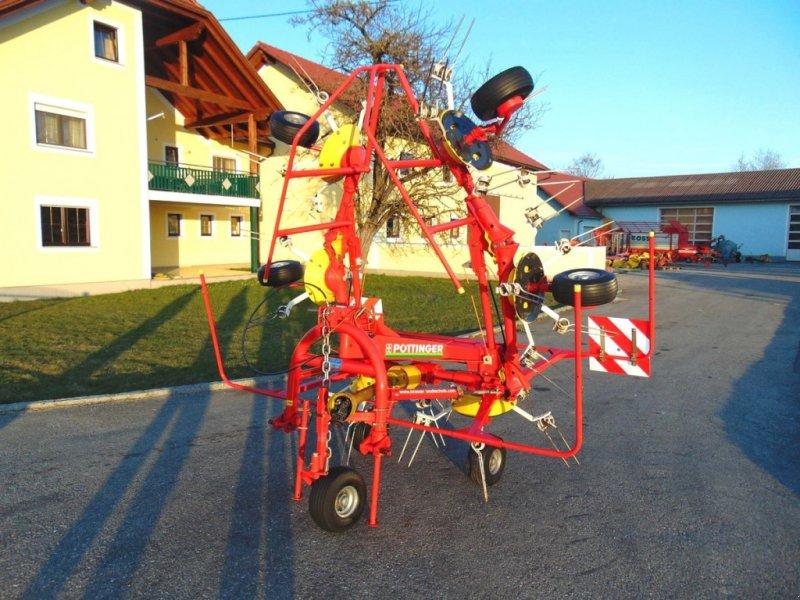 Kreiselheuer des Typs Pöttinger EuroHit 61N, Gebrauchtmaschine in Neukirchen am Walde  (Bild 1)