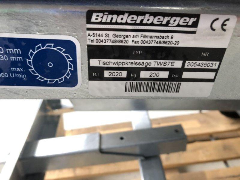 Kreissäge & Wippsäge типа Binderberger TWS 700 E, Gebrauchtmaschine в Villach (Фотография 5)