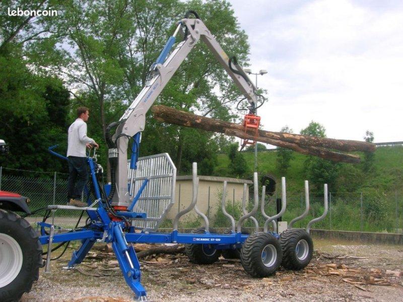 Kurzholzanhänger a típus Scandic Nouveau en France Remorque Forestière sécurité max, Gebrauchtmaschine ekkor: BEAUREPAIRE (Kép 1)