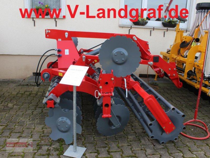 Kurzscheibenegge of the type Unia Ares L, Neumaschine in Ostheim/Rhön (Picture 1)
