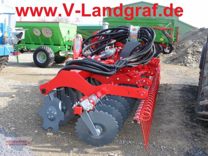 Kurzscheibenegge des Typs Unia Arex XLA, Neumaschine in Ostheim/Rhön (Bild 1)