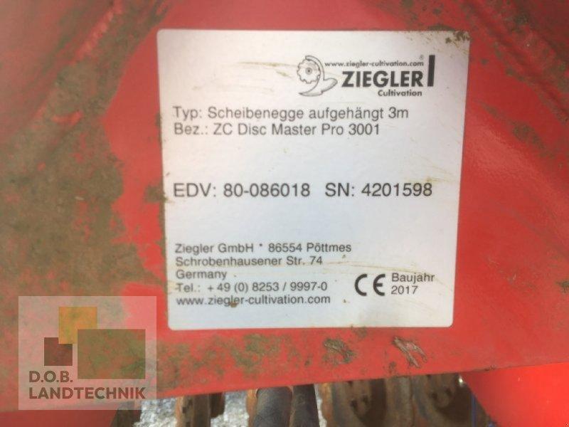 Kurzscheibenegge типа Ziegler Disc Master Pro 3001, Gebrauchtmaschine в Lauterhofen (Фотография 4)