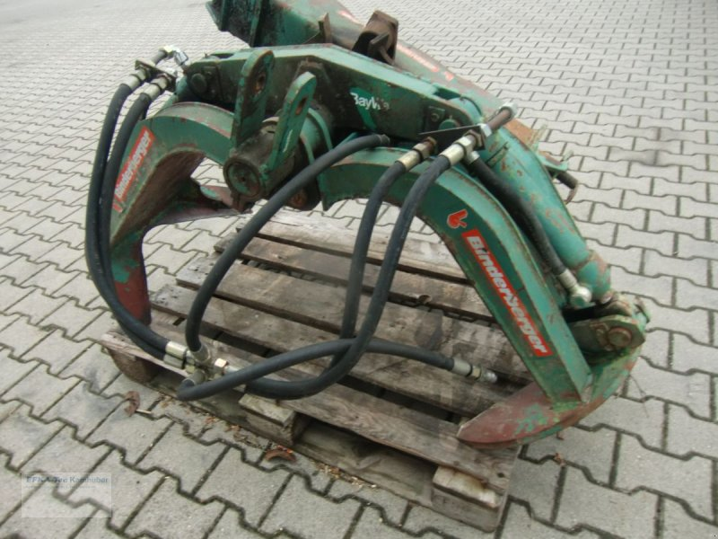 Ladekrane & Rückezange типа Binderberger Bindeberger, Gebrauchtmaschine в Erlbach (Фотография 1)