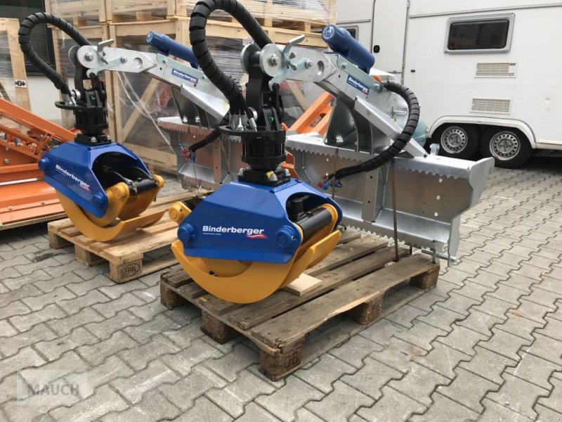Ladekrane & Rückezange des Typs Binderberger RZ 1200 light, Neumaschine in Burgkirchen (Bild 1)