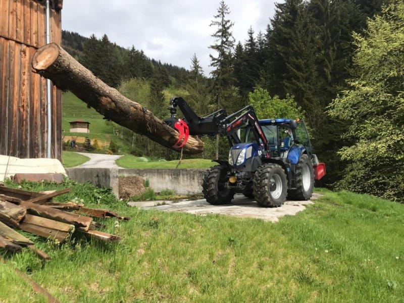 Ladekrane & Rückezange des Typs Eigenbau Rückezange, Neumaschine in Annaberg (Bild 3)