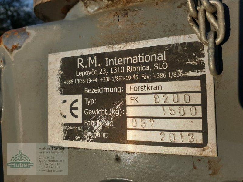 Ladekrane & Rückezange des Typs Forest-Master FK 8200, Gebrauchtmaschine in Pfaffenhausen (Bild 6)