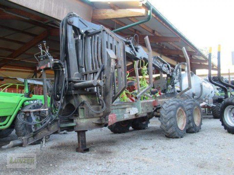 Ladekrane & Rückezange типа Kronos 5000 mit 10T Triebsanhänger, Gebrauchtmaschine в Kaumberg (Фотография 1)