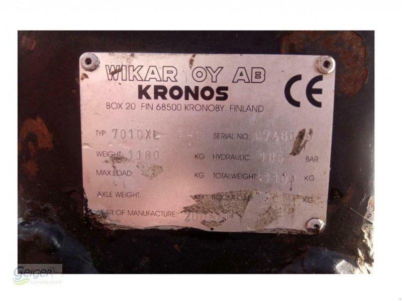 Ladekrane & Rückezange typu Kronos 7010XL, Gebrauchtmaschine w Drachselsried (Zdjęcie 3)