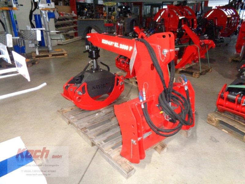 Ladekrane & Rückezange des Typs Krpan KL 2500F, Neumaschine in Neumarkt / Pölling (Bild 1)
