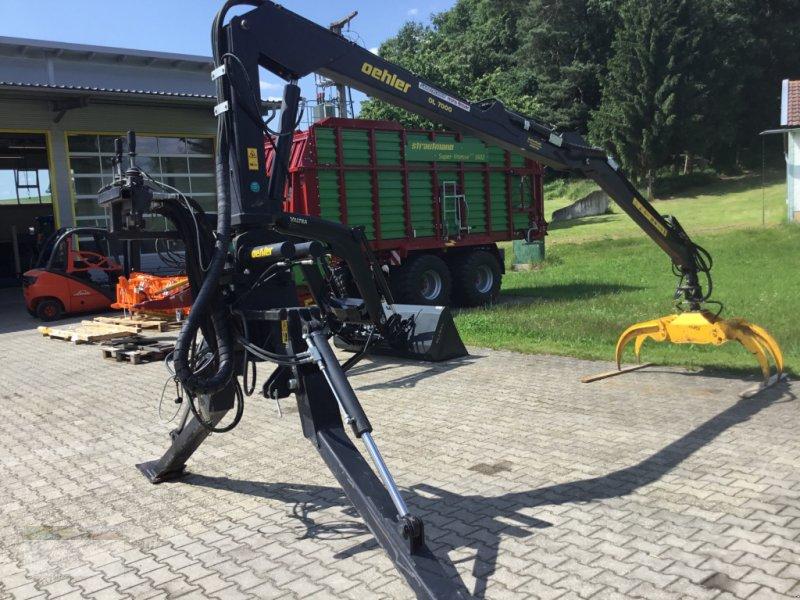 Ladekrane & Rückezange des Typs Oehler OL 7000SG/P, Gebrauchtmaschine in Fürsteneck (Bild 1)