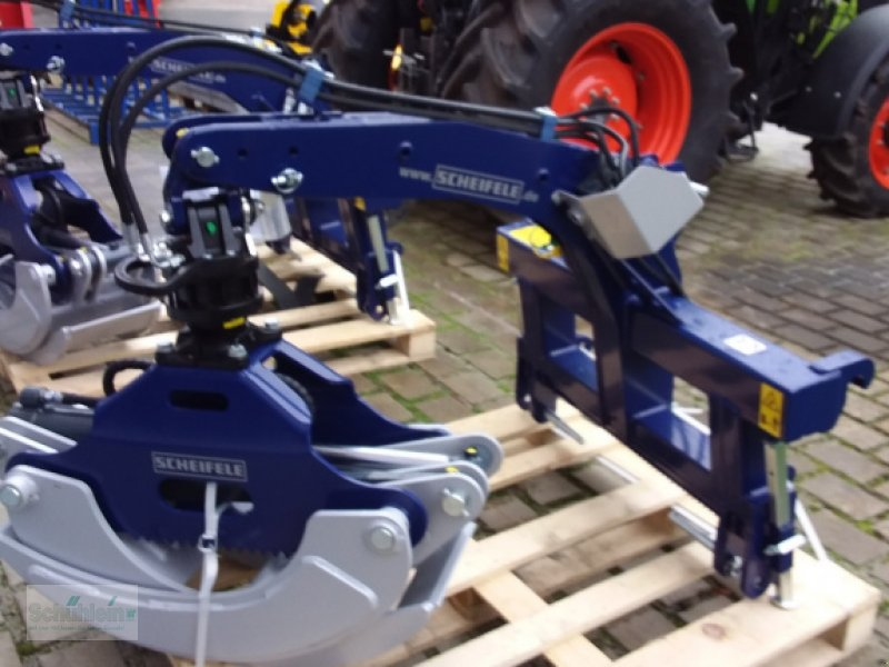 Ladekrane & Rückezange a típus Scheifele SRZ 1800 R, Neumaschine ekkor: Emskirchen (Kép 1)