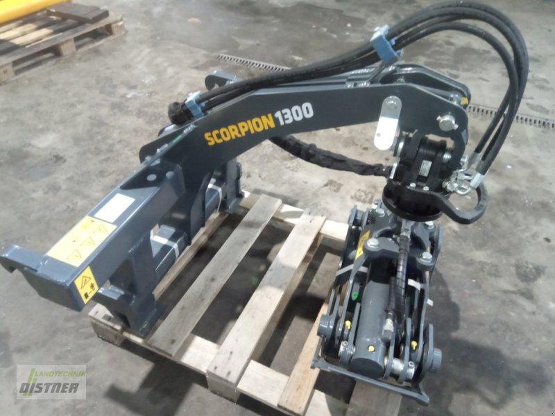 Ladekrane & Rückezange a típus Uniforest Scorpion 1300 F, Neumaschine ekkor: Eslarn (Kép 1)