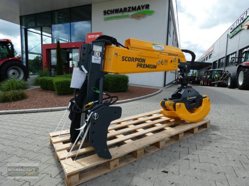 Ladekrane & Rückezange типа Uniforest Scorpion Pro 3 Premium, Neumaschine в Aurolzmünster (Фотография 1)
