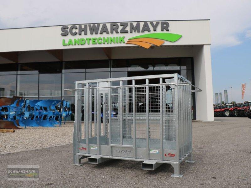 Ladeschaufel des Typs Fliegl Arbeitsbühne CNH, Neumaschine in Gampern (Bild 1)