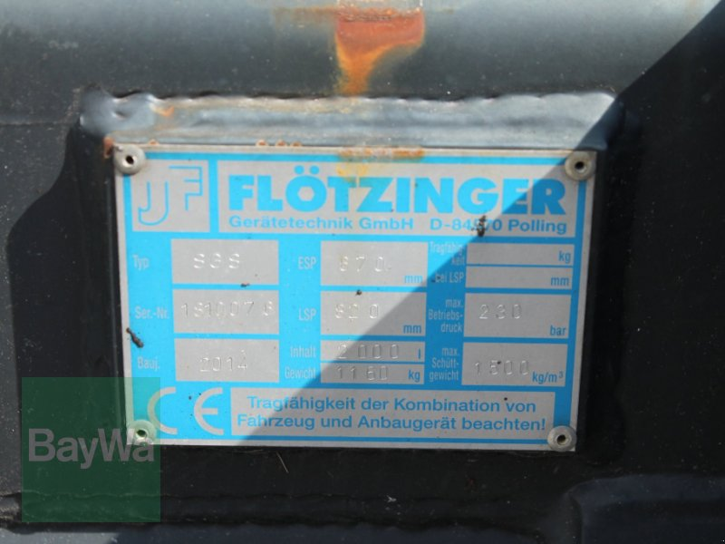 Ladeschaufel des Typs Flötzinger SGS, Gebrauchtmaschine in Straubing (Bild 5)