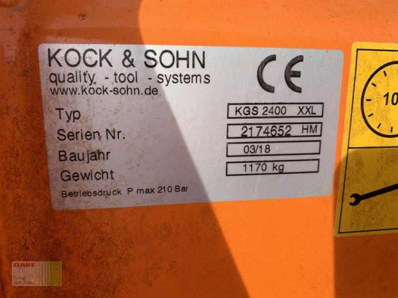 Ladeschaufel des Typs Sonstige SLK SILAGE-GREIFSCHAUFEL KOCK-, Vorführmaschine in Aresing (Bild 3)
