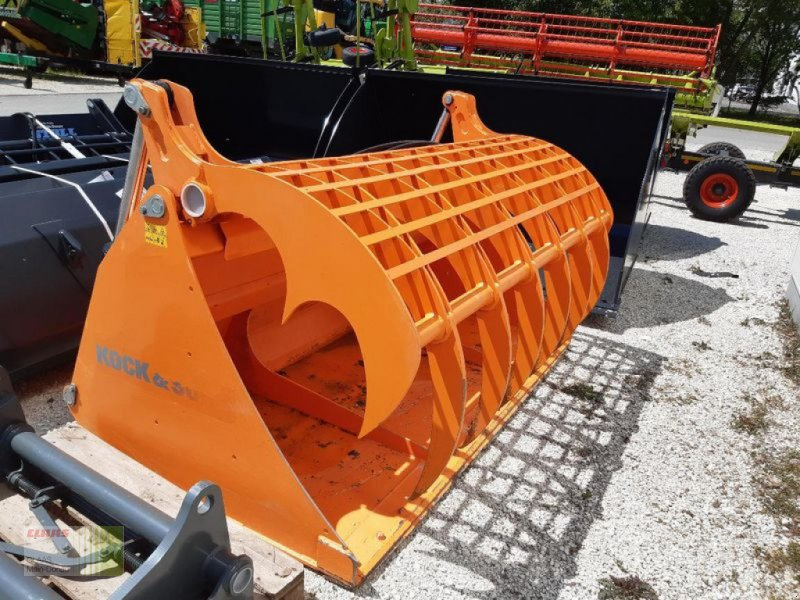 Ladeschaufel des Typs Sonstige SLK SILAGE-GREIFSCHAUFEL KOCK-, Vorführmaschine in Aresing (Bild 1)