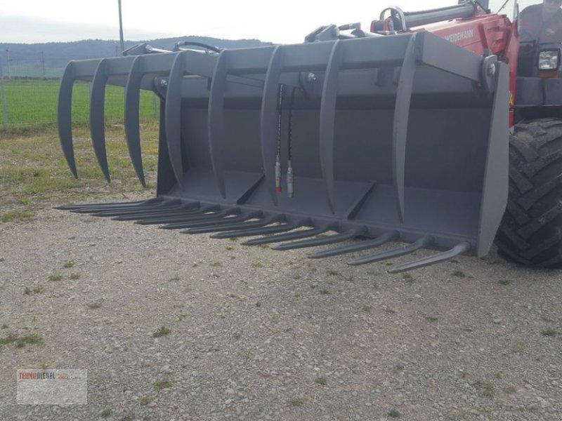 Ladeschaufel tip Weidemann  Furca gunoi Kroko 1.9m, Neumaschine in Jud. Timiş (Poză 4)