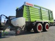 CLAAS Cargos 8400 Tandem günstiger Werksvorführwagen szállító pótkocsi