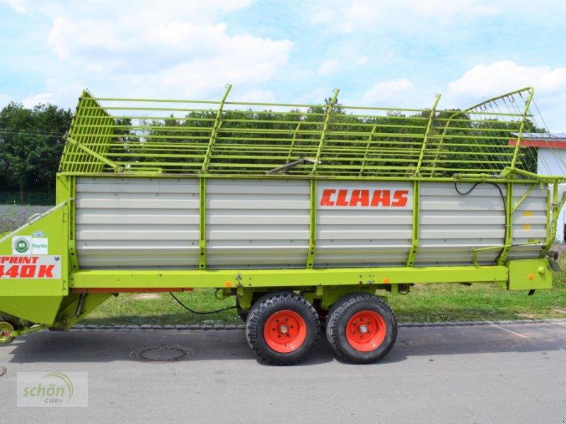 Ladewagen des Typs CLAAS Sprint 440 K Ladewagen mit hydraulischer Heckklappenöffnung, Gebrauchtmaschine in Burgrieden (Bild 2)