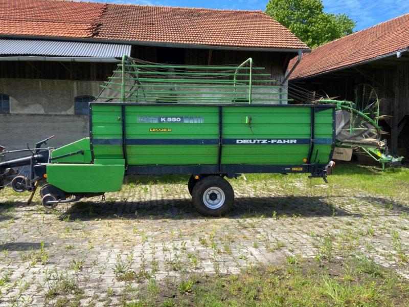 Ladewagen des Typs Deutz-Fahr K 550, Gebrauchtmaschine in Holzkirchen (Bild 1)
