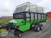 Deutz-Fahr K 7.36 mit hydraulisch-klappbarem Dürrfutteraufbau und neuen 19-er Breitreifen Ladewagen
