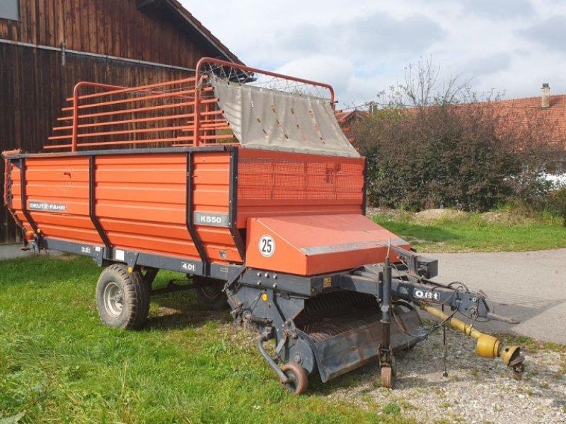 Ladewagen des Typs Deutz-Fahr K550, Gebrauchtmaschine in Kempten (Bild 1)