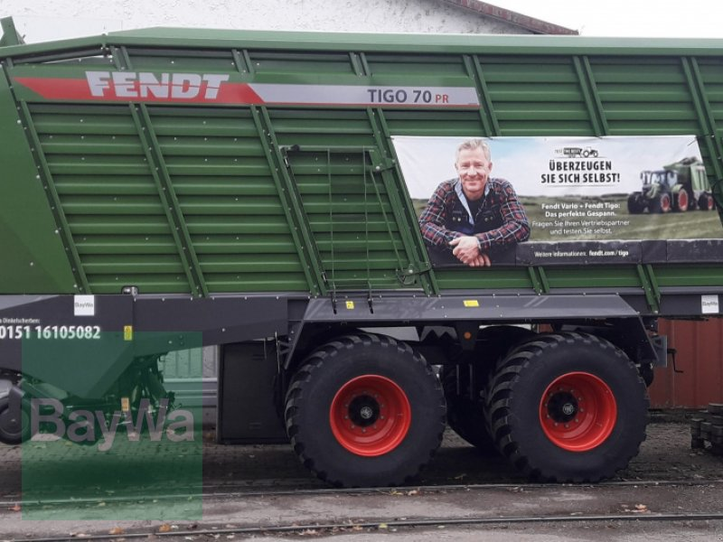 Ladewagen des Typs Fendt Tigo 70 PR, Neumaschine in Memmingen (Bild 16)