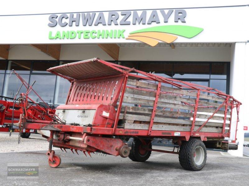 Ladewagen tipa Gruber LH 1020 mit Querförderband, Gebrauchtmaschine u Gampern (Slika 1)