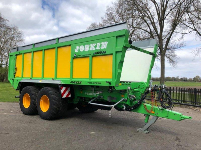 Ladewagen типа Joskin Drakkar 7600/27D150, Gebrauchtmaschine в Vriezenveen (Фотография 1)