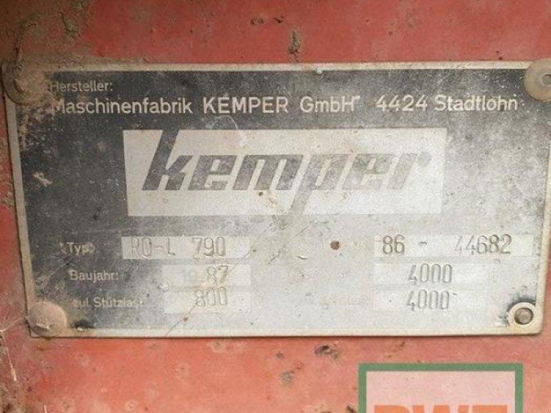Ladewagen типа Kemper RO-L 790, Gebrauchtmaschine в Zülpich (Фотография 1)
