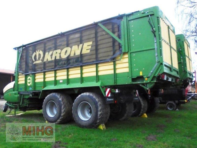 Ladewagen a típus Krone LADEWAGEN ZX 450GL, Gebrauchtmaschine ekkor: Dummerstorf OT Petsc (Kép 3)