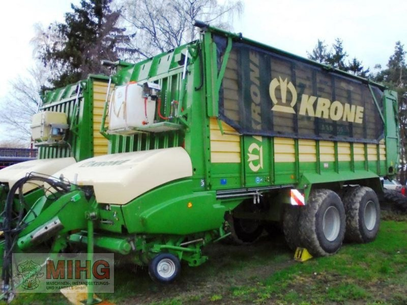 Ladewagen a típus Krone LADEWAGEN ZX 450GL, Gebrauchtmaschine ekkor: Dummerstorf OT Petsc (Kép 4)