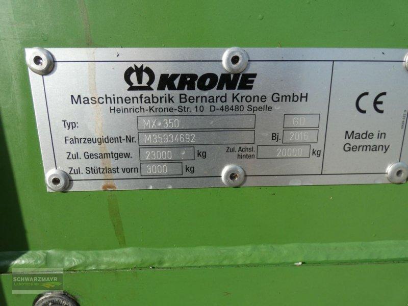 Ladewagen a típus Krone MX 350 GD, Gebrauchtmaschine ekkor: Aurolzmünster (Kép 6)